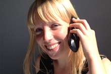 Callcenter Frau
